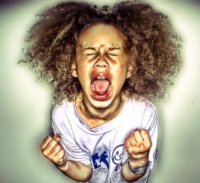 little girl throwing a tantrum, is all of that necessary?
